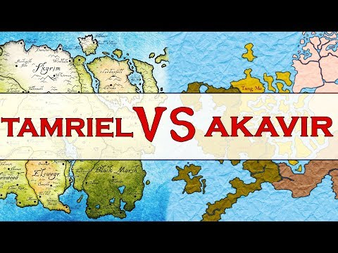 Which Continent Is The Most Powerful - Akavir or Tamriel? Elder Scrolls Lore