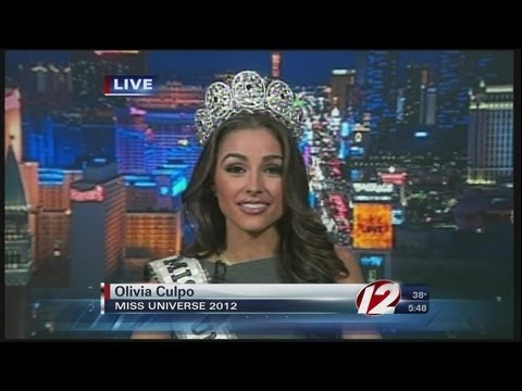 Interview with Miss Universe Olivia Culpo