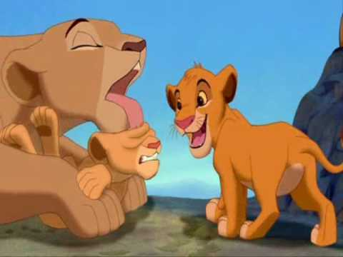 dobaje del rey leon simba y nala - YouTube