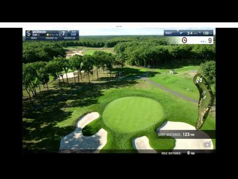 Bethpage F18 low wind 54   curious round