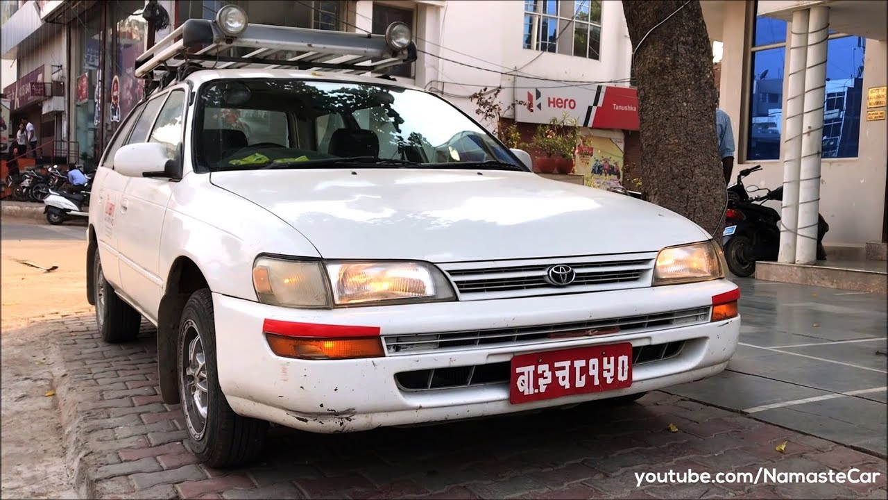 Toyota Corolla Station Wagon E100 1993 | Real-life review