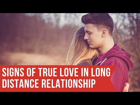 Signs of True Love in a Long Distance Relationship - YouTube