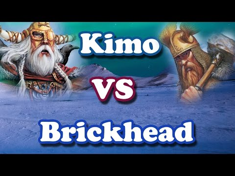 rise of the bricks (Kimo VS Brickhead) Age of Mythology PART 1