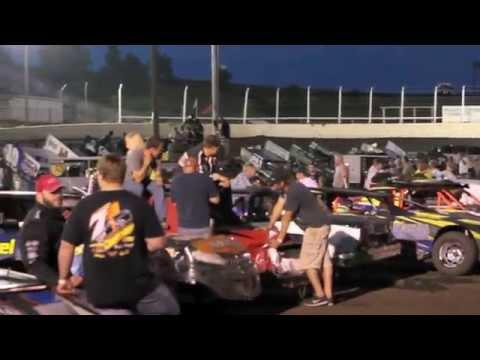 Huset's Speedway - Brandon, SD - Micro Sprint A-Main - 8-10-14