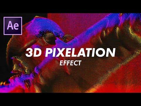 "Big Sean ""Sacrifices"" 3D Pixelgrid Effect (Music Videos) (Adobe After Effects CC 2018 Tutorial)"