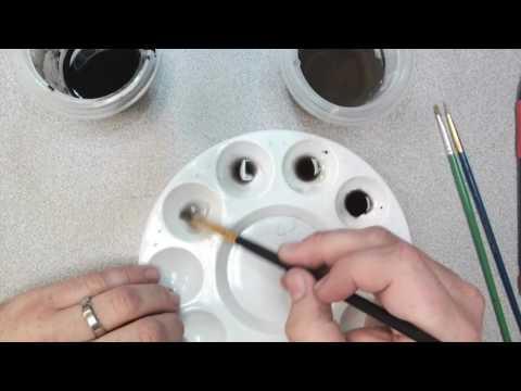 Ink Wash Practice