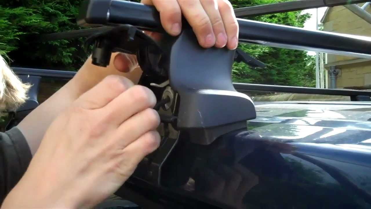 Land Rover Discovery >> How to fit Thule roof rails to Range Rover L322 / Vogue - YouTube
