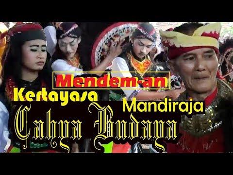 PENARI KUDA KEPANG TERTUA IKUT MENDEM-an Ebeg CAHYA BUDAYA Desa Kertayasa, Mandiraja, Banjarnegara