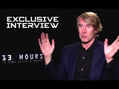 Michael Bay Exclusive Interview - 13 HOURS: THE SECRET SOLDIERS OF BENGHAZI (2016)