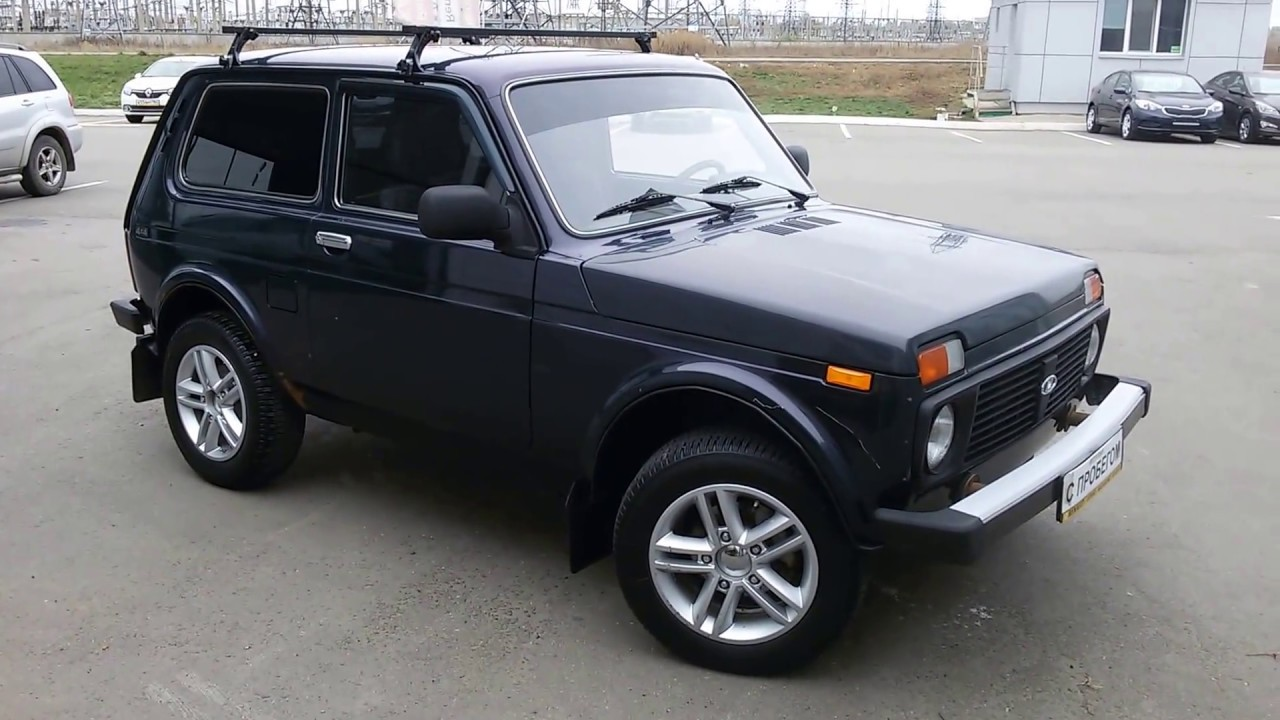 Продажа авто ваз с пробегом ВАЗ Нива 2121 2005 - YouTube