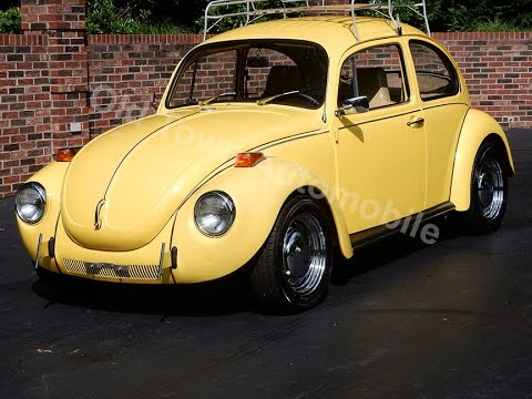 1972 Volkswagen Super Beetle for sale Old Town Automobile in Maryland