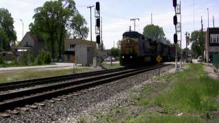 CSX Action at CP State Line - Hammond, IN