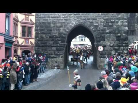 Rottweil Fasnetsmontag 2012 Historischer Narrensprung