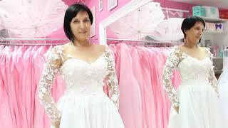 Образ невесты. Часть 5. Примерка свадебных платьев. Выпуск №38