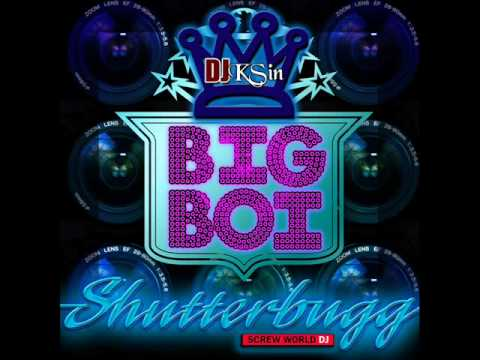 Big Boi - Shutterbug (Slowed N Throwed) by DJ KSin