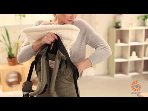 How Do I Use Infant Insert? | Newborn | Performance Baby Carrier | 2014 | Ergobaby