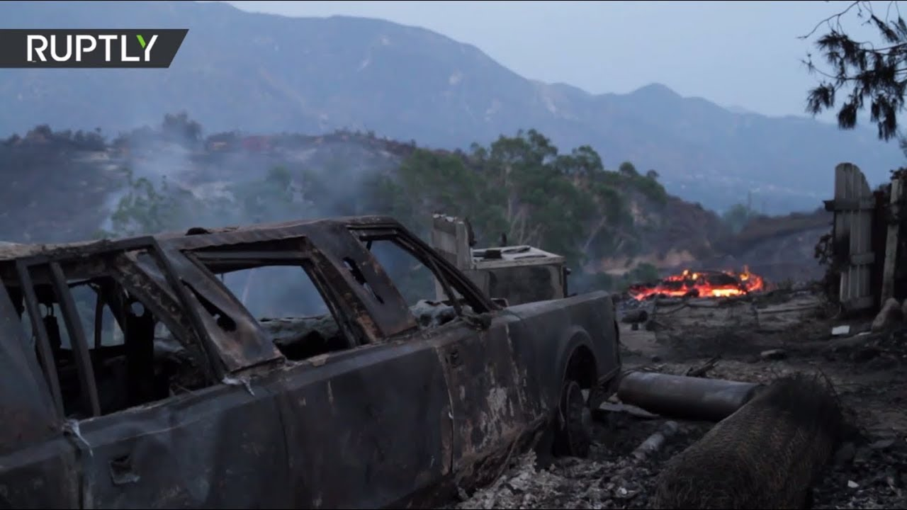 Los Angeles blaze spread 'to over 5,000 acres' - LAFD