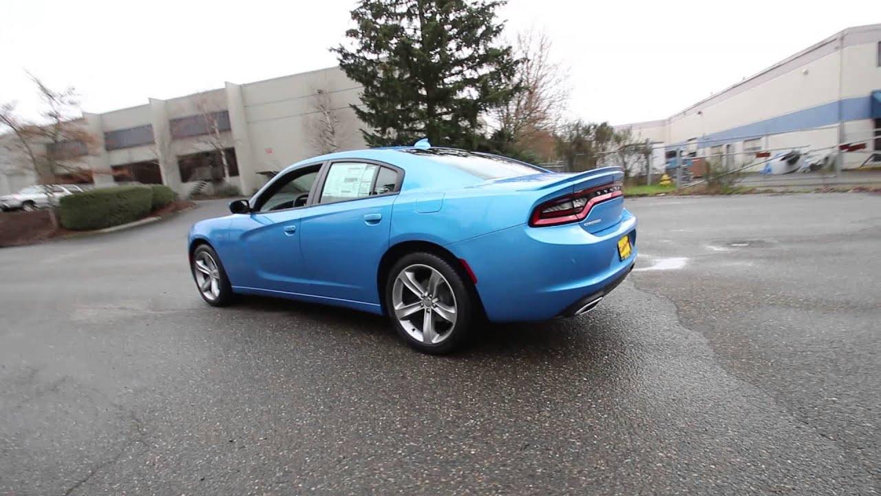 2015 Dodge Charger Sxt Plus Blue Fh741895 Redmond