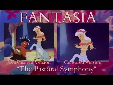 Fantasia ~ The Pastoral Symphony - UNCENSORED VERSION