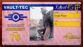 Let's Play Fallout 76   Single Player #74 Heilfaktor: +300% Gesundheitsregenation