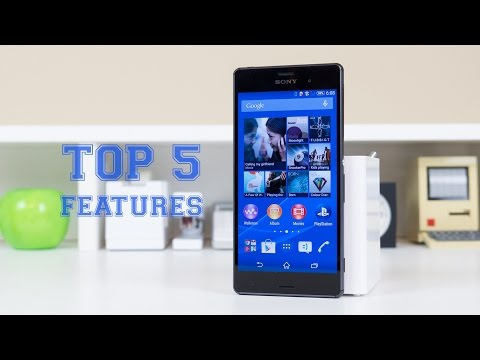 Sony Xperia Z3: Top 5 Features