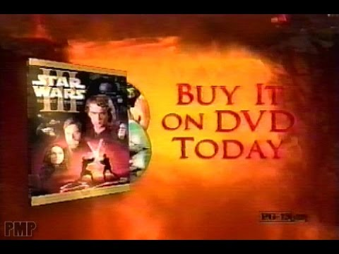 Star Wars Episode Iii Revenge Of The Sith Dvd 2005 Youtube