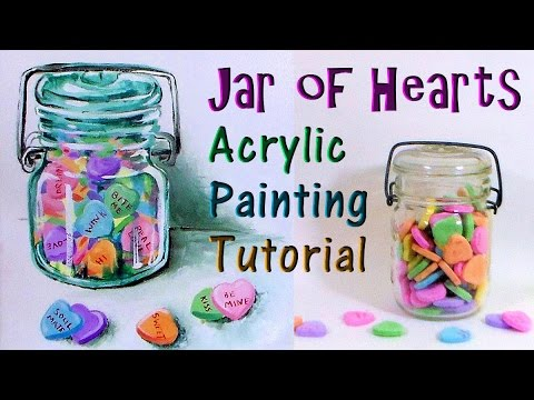 Let's Paint a Jar of Candy LIVE!