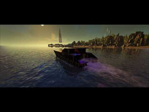 ARK  Survival Evolved Tek Motorboats.