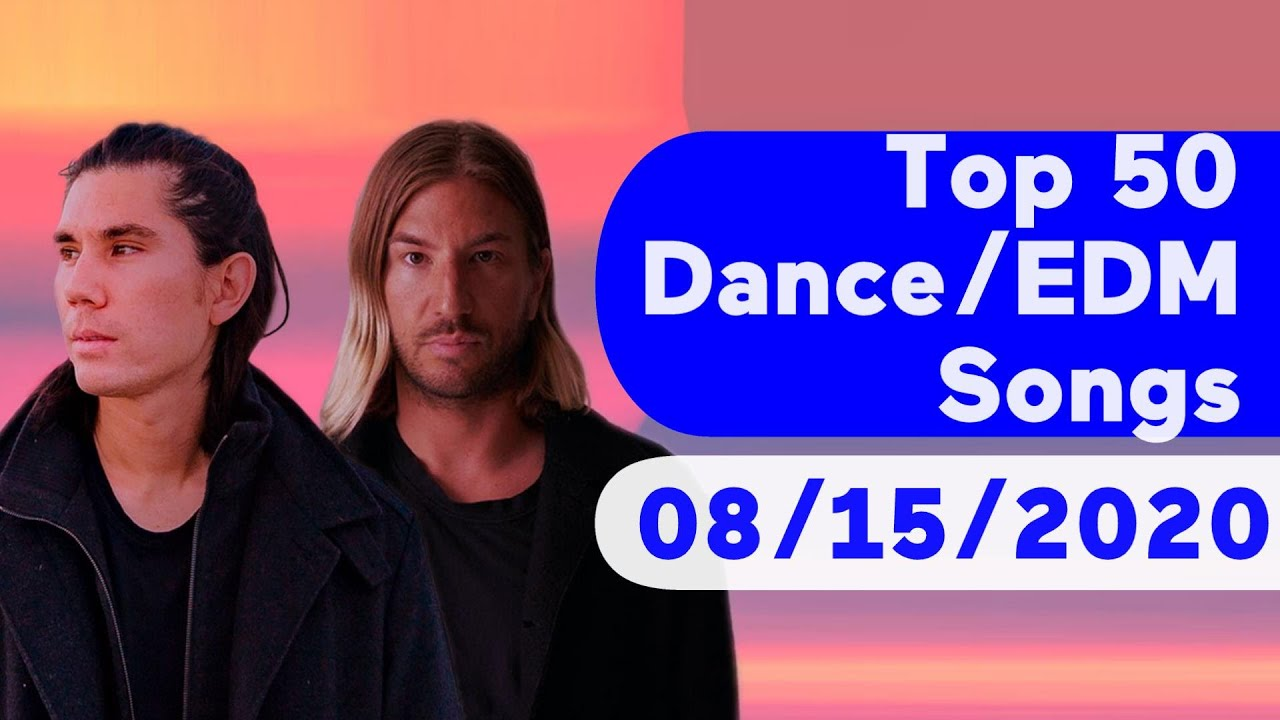 US Top 50 Dance/Electronic/EDM Songs (August 15, 2020)