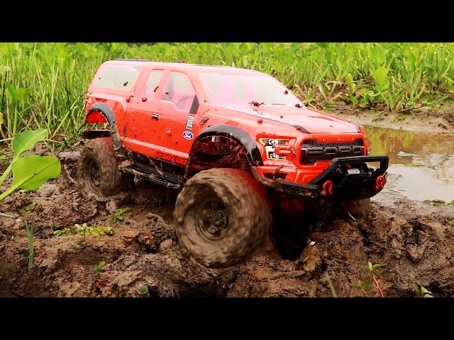 Ford Raptor Rc Car 4x4 Mud Off Road - Traxxas TRX 4