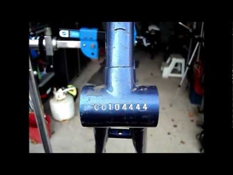 83 Nishiki bicycle IV. Deciphering the date codes