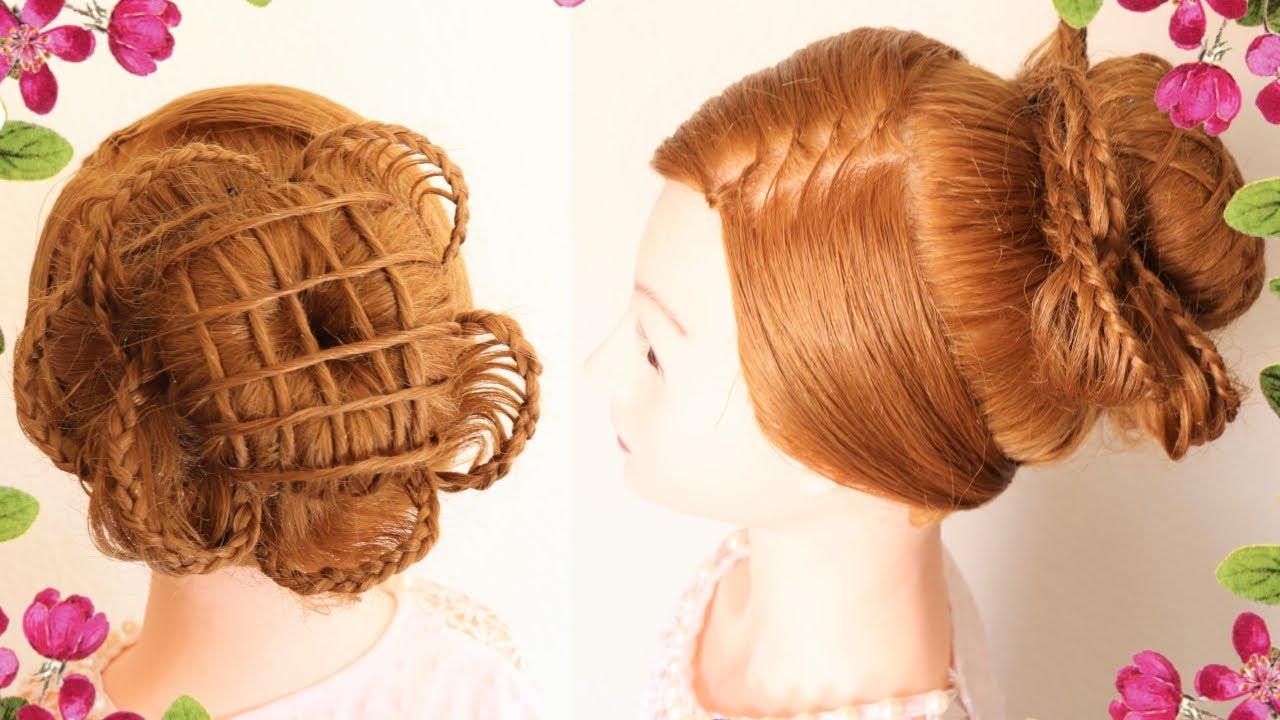 Peinado recogido facil para fiesta