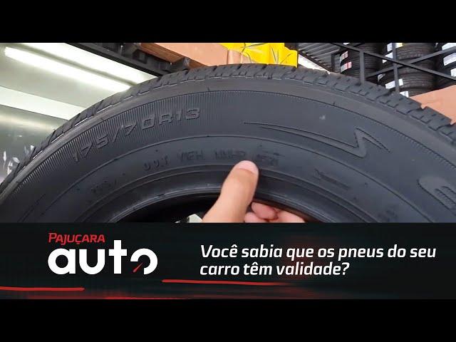 Você sabia que os pneus do seu carro têm validade?