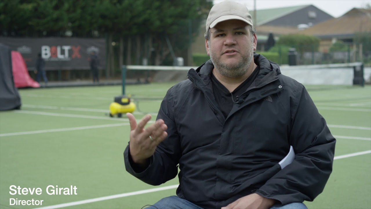 'Robot Tennis' Behind the Scenes by MRMC & Steve Giralt and Love High Speed