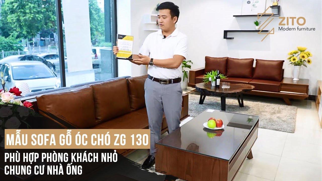 Bộ Bàn Ghế Sofa Gỗ Óc Chó Hiện Đại ZG 130 Cho Phòng khách Xu Hướng 2020 | Tóm tắt những nội dung nói về bộ salon đẹp đúng nhất