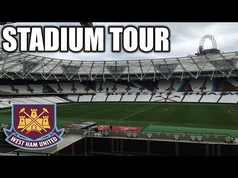 LONDON STADIUM TOUR! WEST HAM UNITED FC!