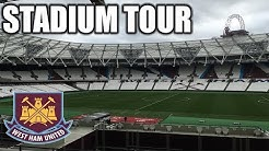 LONDON STADIUM TOUR! WEST HAM UNITED FC!