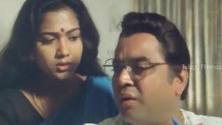 Paresh Rawal romancing Hema - Money Romantic Scenes - Brahmanandam, JD Chakravarthy