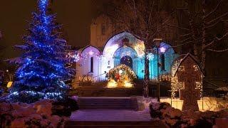 Рождество в монастыре
