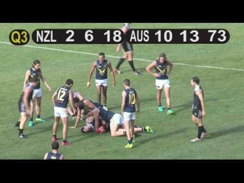 NZ Seniors vs Australian Academy 2017 – Q3