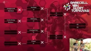 Gamecell Hivefest Vainglory Turnuvası Eşleşmeleri Belli Oldu!