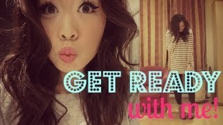 Get Ready With Me: Makeup, Hair, & Outfit! ♥ Thumbnail