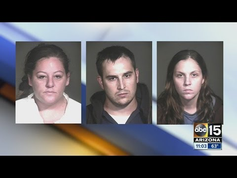 Three arrested for Mesa robberies