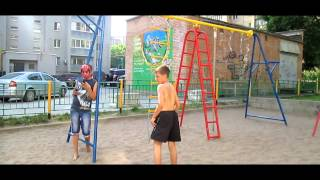 Обучение колесо-винт и ещё пару кадров)))