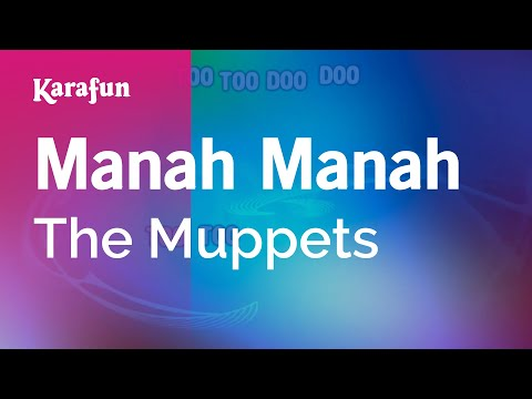 Karaoke Manah Manah - The Muppets *
