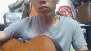 tren tuong nha duong lao guitar cover
