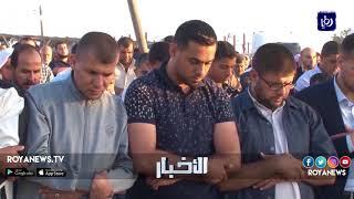 أداء صلاة عيد الفطر على الحدود الشرقية لقطاع غزة - (2018-6-15)
