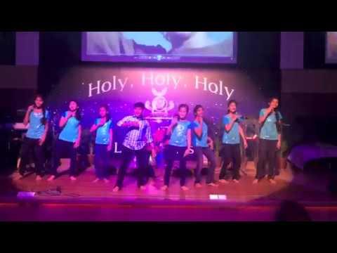 Hebron Kingdom Kids dance for Bayamillai by Joel Thomasraj
