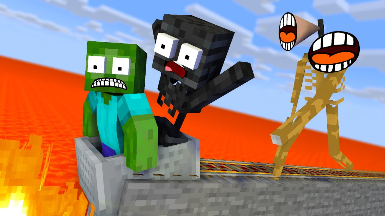 Monster School : Escape From Siren Head - Minecraft Animation