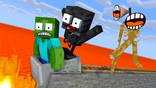 Monster School : Escape From Siren Head - Minecraft Animation